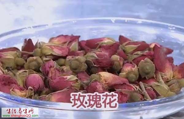 中药-玫瑰花